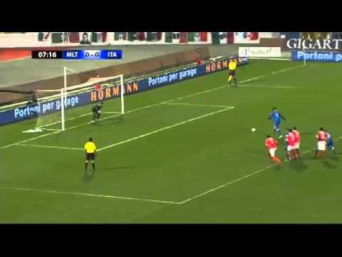 Malta O - 1 Italy # Mario Balotelli