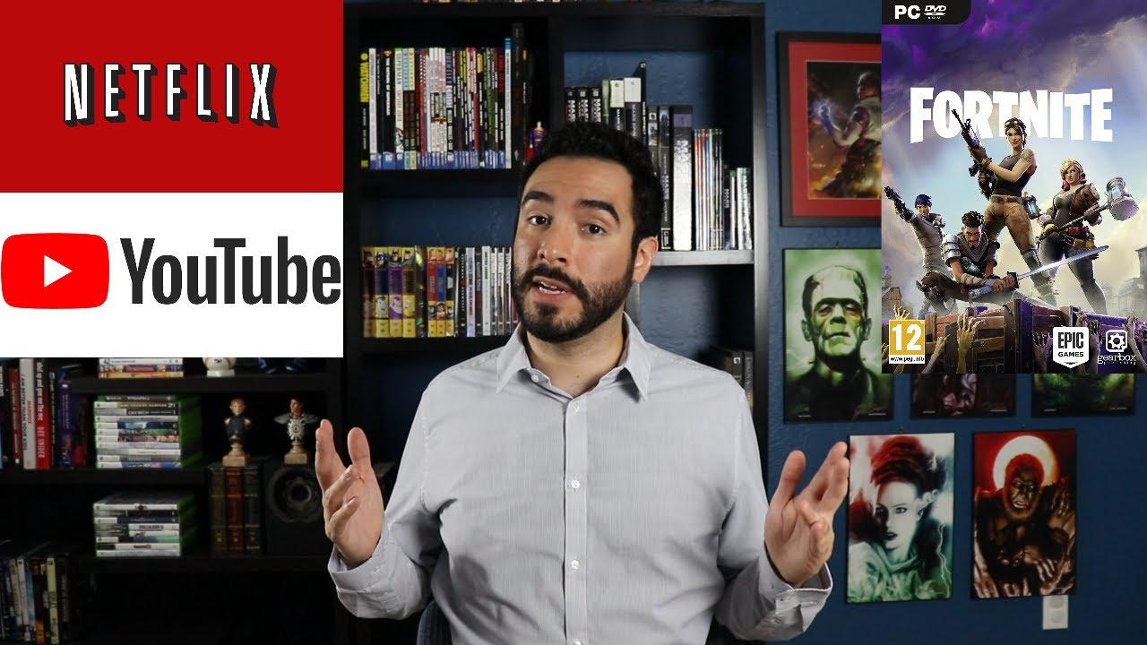 Netflix Ceo Says Their Real Competition Is Youtube Fortnite Not
