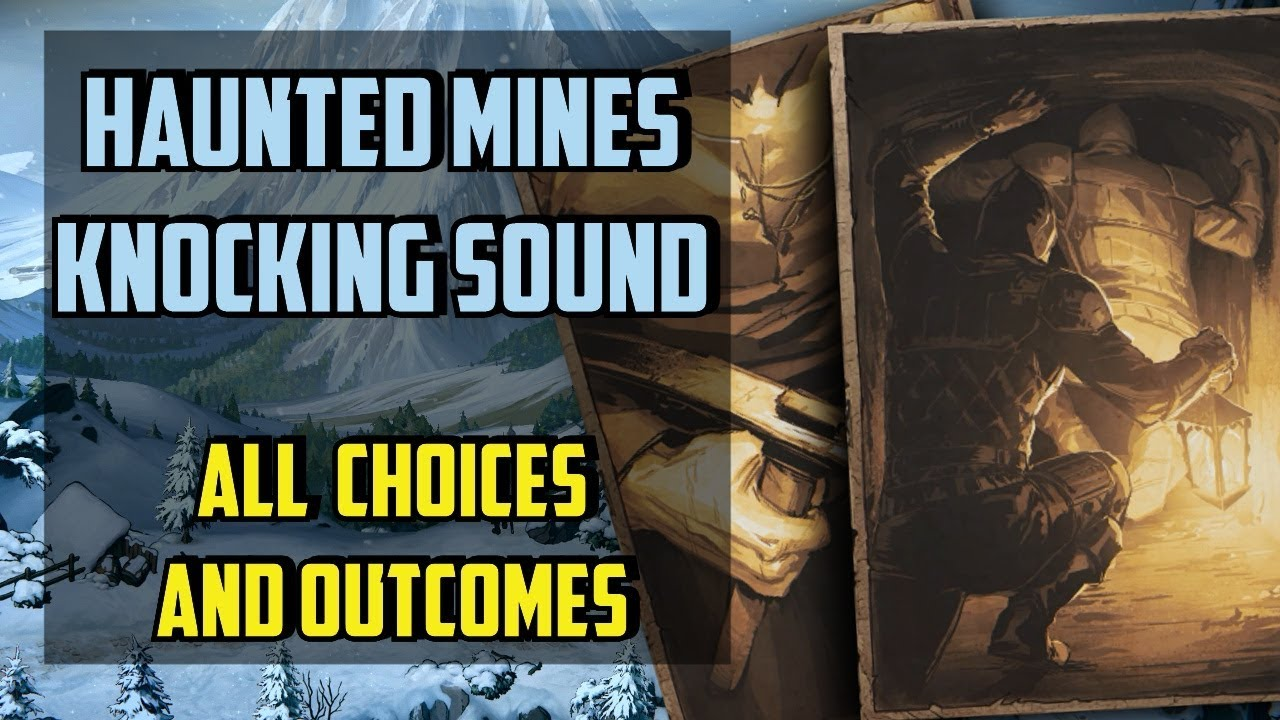 Knocking Sound All choices - Thronebreaker the Witcher Tales - (Haunted  Mine)