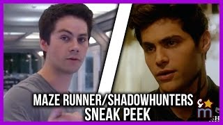 Dylan O'Brien's MAZE RUNNER: THE DEATH CURE First Look & Shadowhunters 2b Teaser | Cheat Sheet