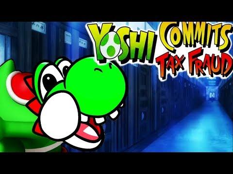 YOSHI COMMITS TAX FRAUD - THE GAME [The Meme got a game?!] | Shitty Super Mario Parody Game