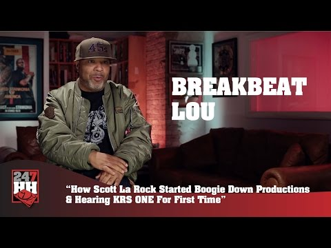 BreakBeat Lou - Scott La Rock's Boogie Down Productions, Early KRS-ONE Affiliation (247HH Exclusive)