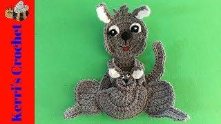 Crochet Kangaroo Tutorial
