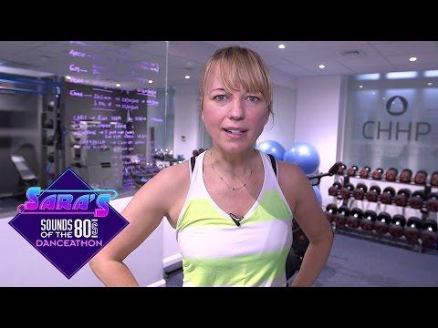 Sara Cox's Danceathon Training