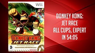 Donkey Kong: Barrel Blast (Jet Race) All Cups, Expert Speedrun in 54:05 (PB as of 15-01-17)