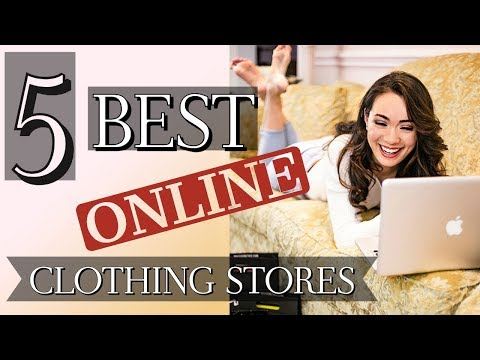 The 5 BEST Online Clothing Shops! (NEW Video )