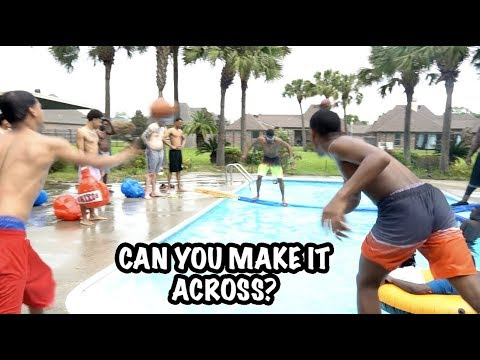 FIRST KID TO MAKE IT ACROSS POOL WINS $10,000 SHOPPING SPREE!