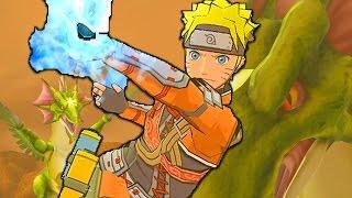 WIND DRAGON! | Naruto Shippuden: Dragon Blade Chronicles - Walkthrough Part 6, Gameplay Wii