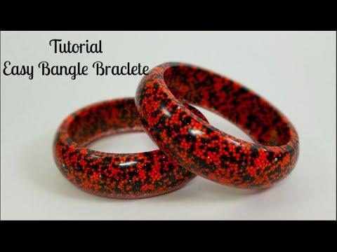 Tutorial: Easy Candy Bangle Bracelets