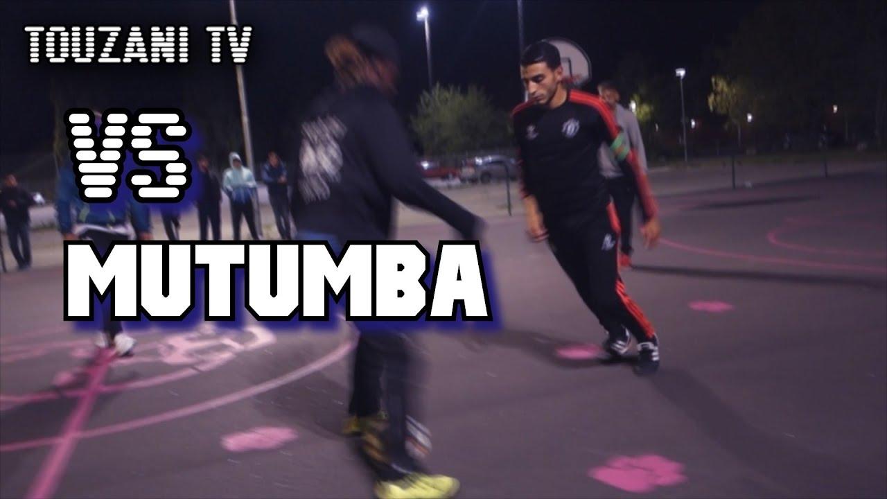 Video: Football freestyler Soufiane Touzani's 'raw' street match