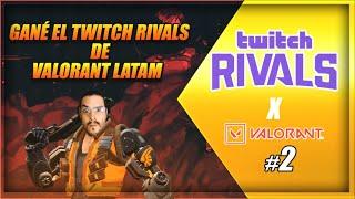 Valorant Twitch Rivals LATAM 2 - Ganamos 35k Para La Lucha Contra El COVID-19