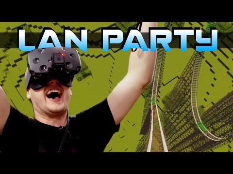 VR Minecraft Rollercoaster - CHUNKS