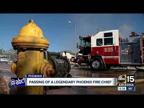 Legendary Phoenix fire chief passes away