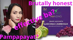 Effective na pampapayat?   Brutally Honest Final Review Amazing Grape Juice with Garcinia Cambogia