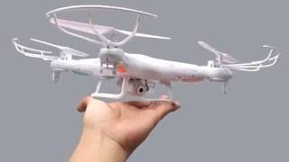 видео Обзор квадрокоптера Syma X5UW: технические характеристики