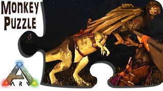 Taming a Megalosaurus to Tame an Argentavis- S3 Ep5- Gaming Evolved + IronMine - ARK Island Survival
