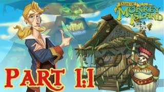 Tales of Monkey Island: Chapter 1: Launch of the Screaming Narwhal - Part 1 - HD Walkthrough