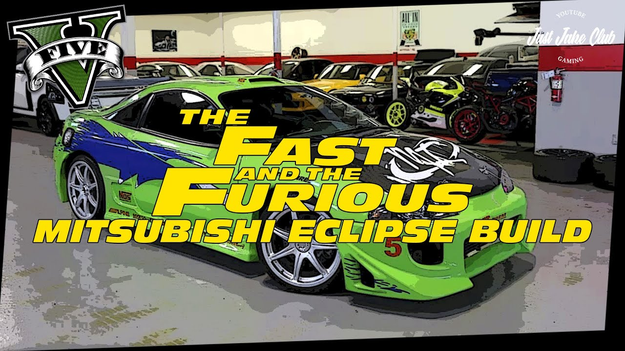 the fast & the furious mitsubishi eclipse movie car build tutorial