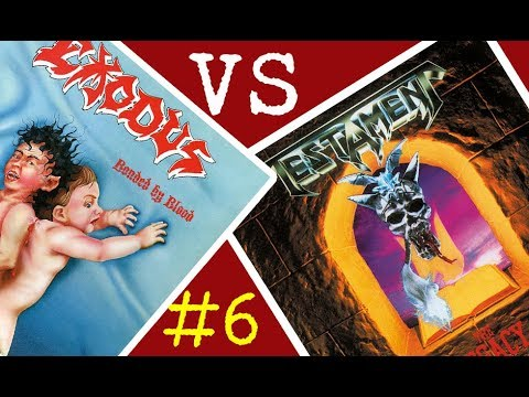 Exodus vs Testament - Batalla de los álbumes #6