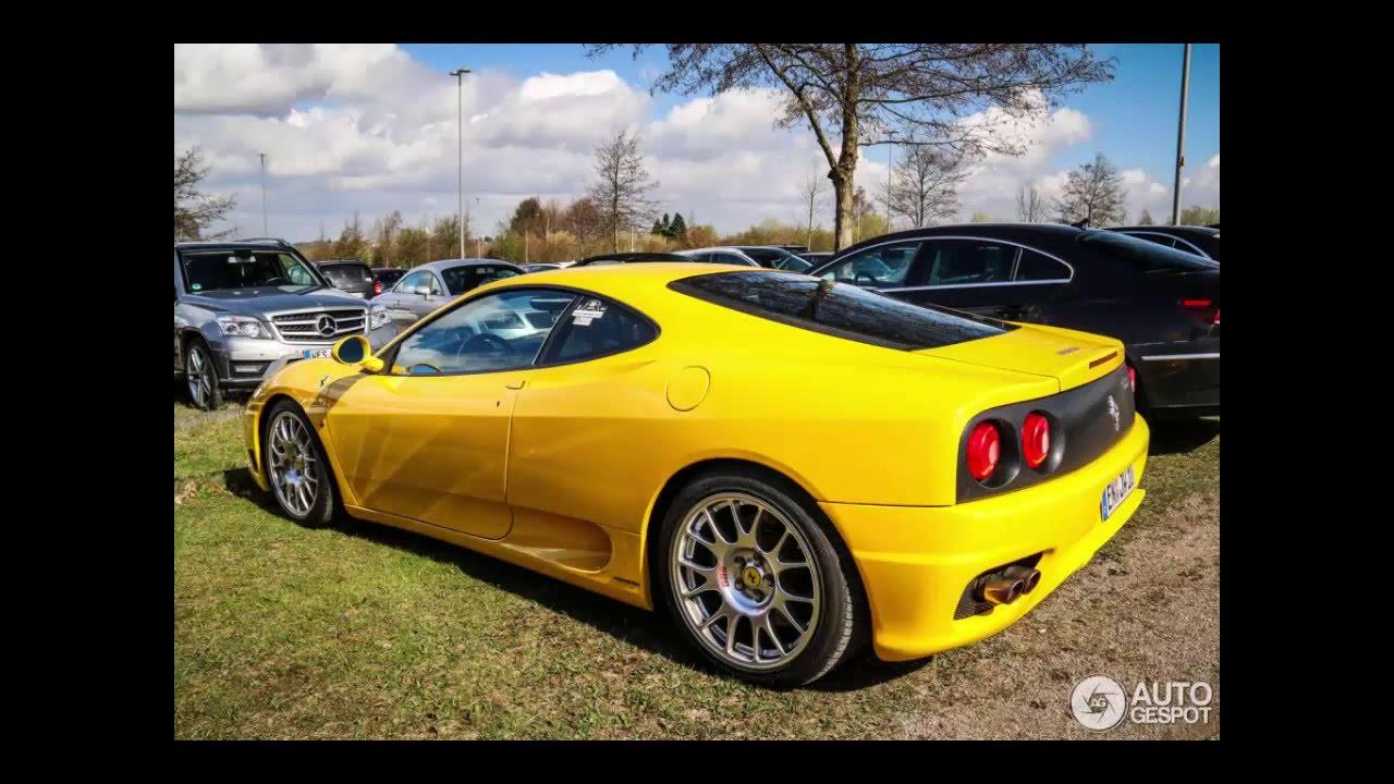 Yellow Ferrari 360 Modena Youtube