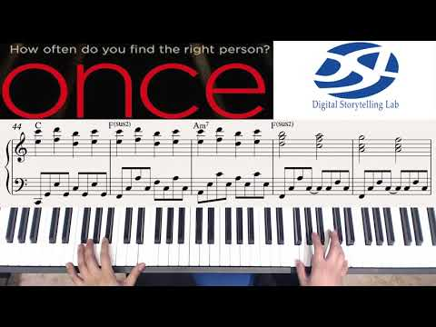 """영화 '원스'의 주제곡 """"Falling Slowly"""" 피아노 연주하기! (Piano by Seyong Han)"""