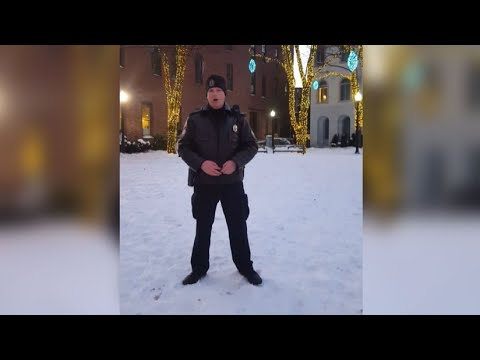 Police Officer 'internet famous' for his angelic voice