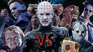 VS - Freddy VS Chucky VS Michael VS Jason VS Ash VS Leatherface by Evan Lefavor