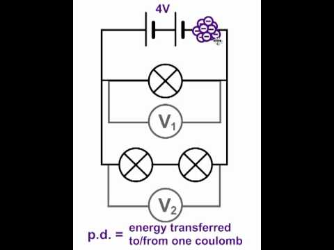 potential difference  voltage  in parallel circuits