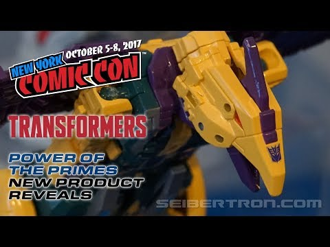 NYCC 2017 Transformers Power of the Primes Reveals - Terrorcons, Rodimus Unicronus + more!