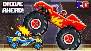 �������� ���� Drive Ahead ХОТ ВИЛС vs МЕГА МОНСТР Мультяшная игра для детей БИТВА ТАЧЕК Hot Wheels ������