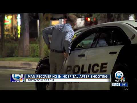 Thumbnail: Man shot in Boynton Beach Wednesday evening