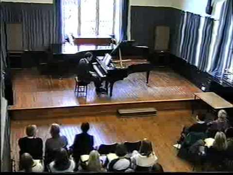 Khachaturian Sonata Durham University Recital Andy Nercessian