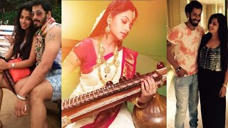 Navya Swamy With Husband Unseen PICS | Television Actress Navya Swamy Family Photos | News Mantra