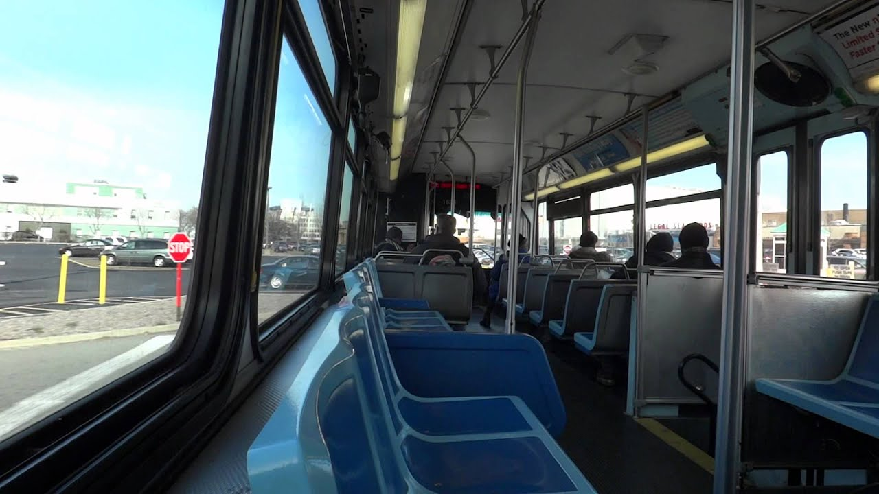 Mta Long Island Bus On Board Orion V Cng 1635 On The