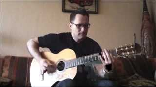 Magnum p.i. Theme -  unplugged guitar version