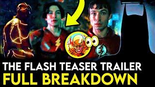 THE FLASH Movie Trailer Breakdown - Things Missed & REVERSE FLASH Theories