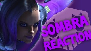 "SOMBRA REVEALED! Overwatch Animated Short | ""Infiltration"" REACTION"