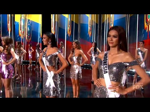 (FULL ENGLISH) Miss Universe 2017 -Top 16 Announcement {HD}