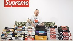 Selling the World's Largest Supreme Box Logo Collection