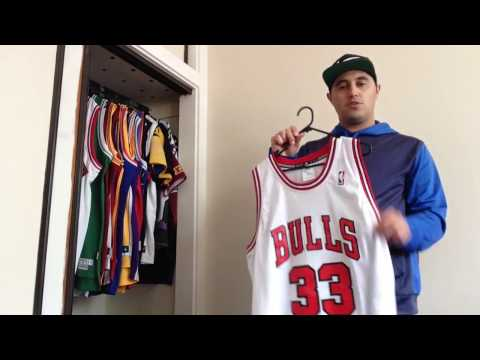 NBA Replica and Swingman Jersey Collection