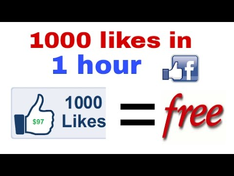 How to get free Facebook like