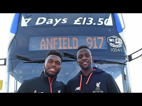 Can Daniel Sturridge and Divock Origi park the 917 bus?