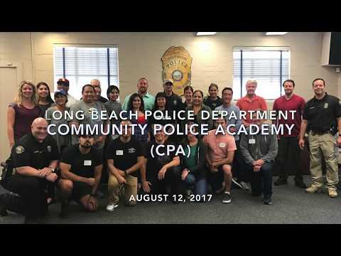 LBPD August 2017 Community Police Academy