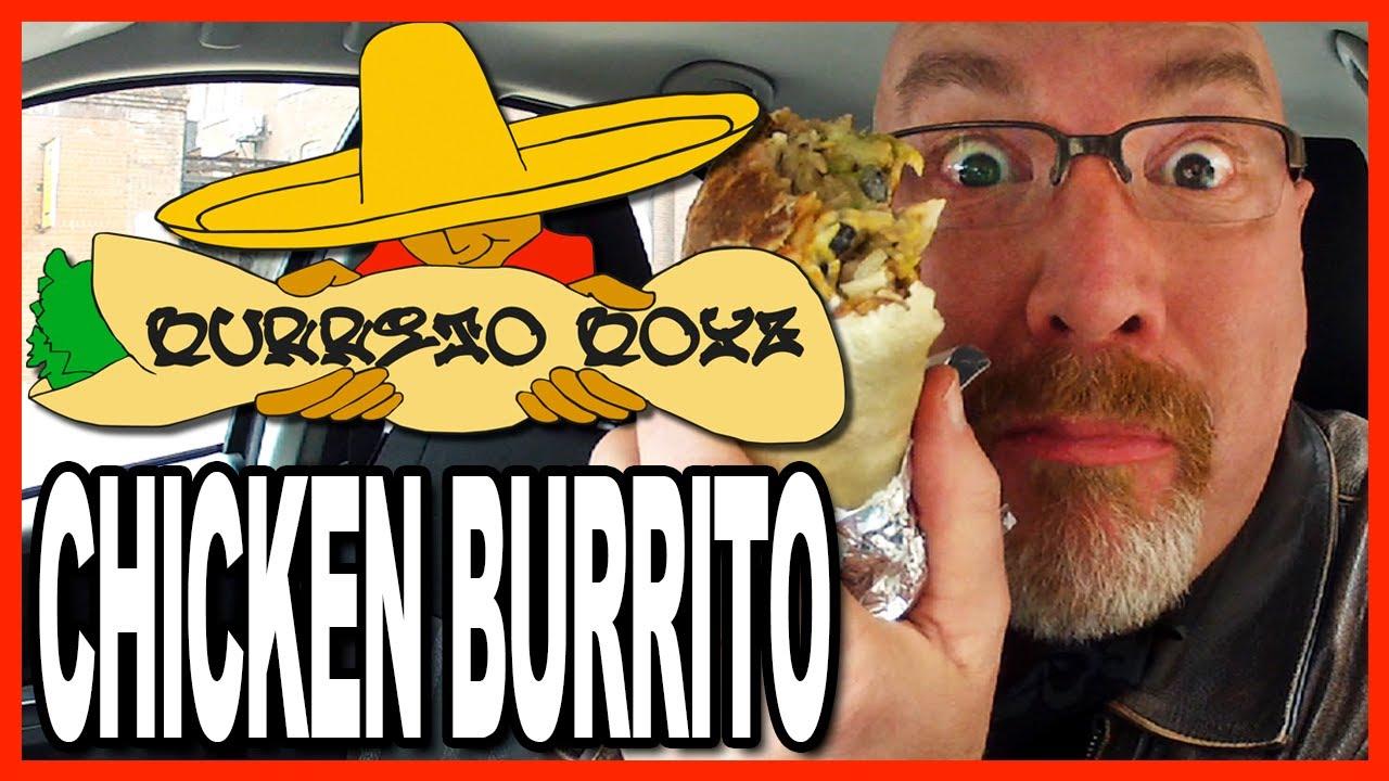 Burrito Boyz ★ LARGE ★ Chicken Burrito with FREE Guacamole