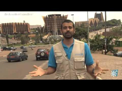El viaje de Enrique Sánchez a Camerún para comprobar que la ayuda llega