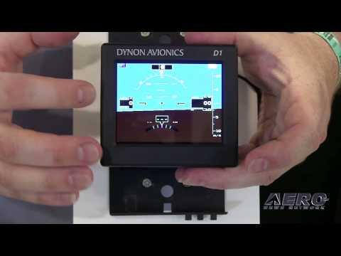 Aero-TV: The D1 Pocket Panel - Dynon Avionics Portable EFIS