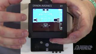 Aero-TV: The D1 Pocket Panel - Dynon Avionics Portable EFIS