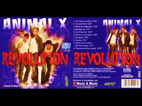 ANIMAL X - Revolution - ALBUM - 2002