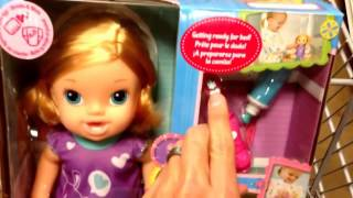 "Baby Alive ""brushy Brushy Baby"" Doll With Toothbrush Accessories - Toy Review"