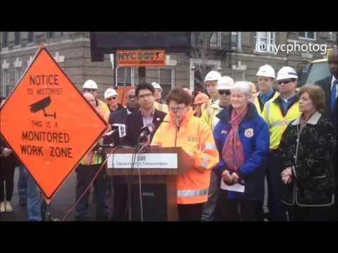 NYC DOT To Crack Down On Reckless Driving In Work Zones & Monitored By Cameras